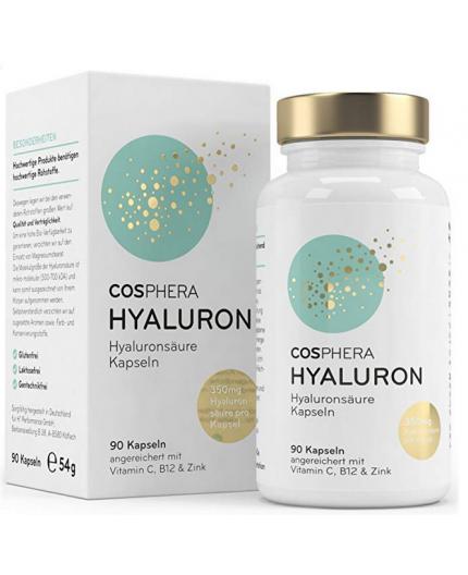 Acide hyaluronique Naturel– Dosage élevé 350 mg - 90 capsules végétaliennes pour 3 mois de cure