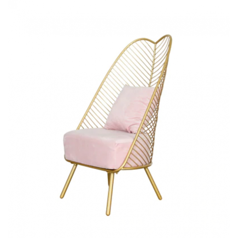 Fauteuil Nature rose